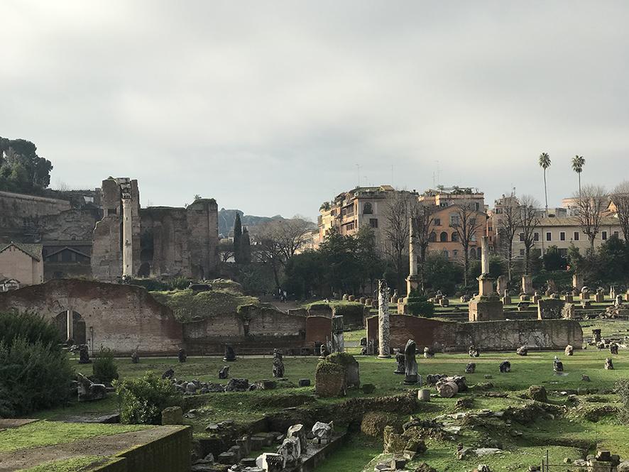 ローマ古代の庭